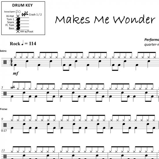 Makes Me Wonder – Maroon 5