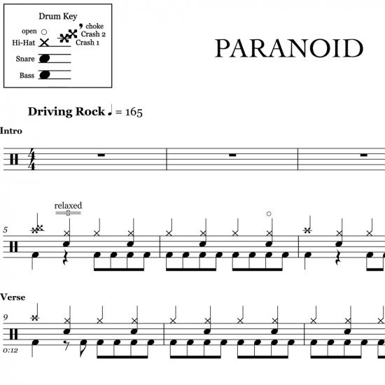 Paranoid – Black Sabbath