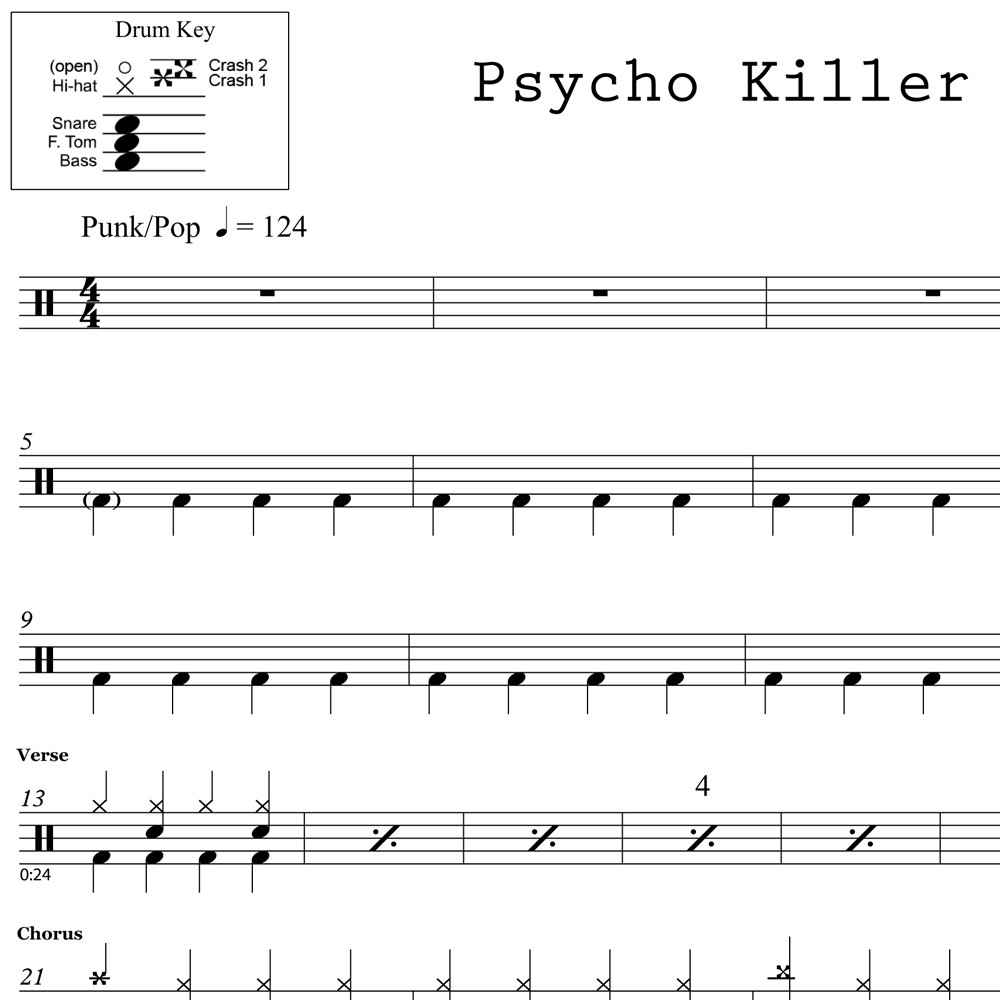 Psycho Killer - Talking Heads