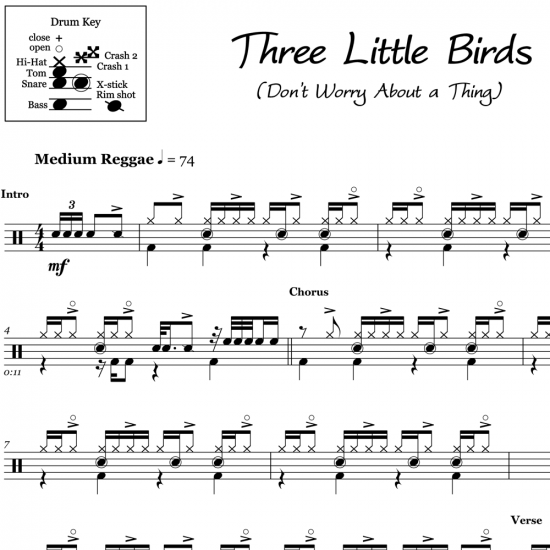 Three Little Birds - Bob Marley and the Wailers