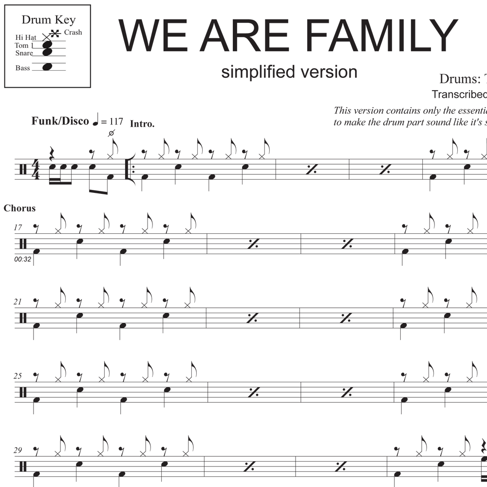 We Are Family - Simplified Version