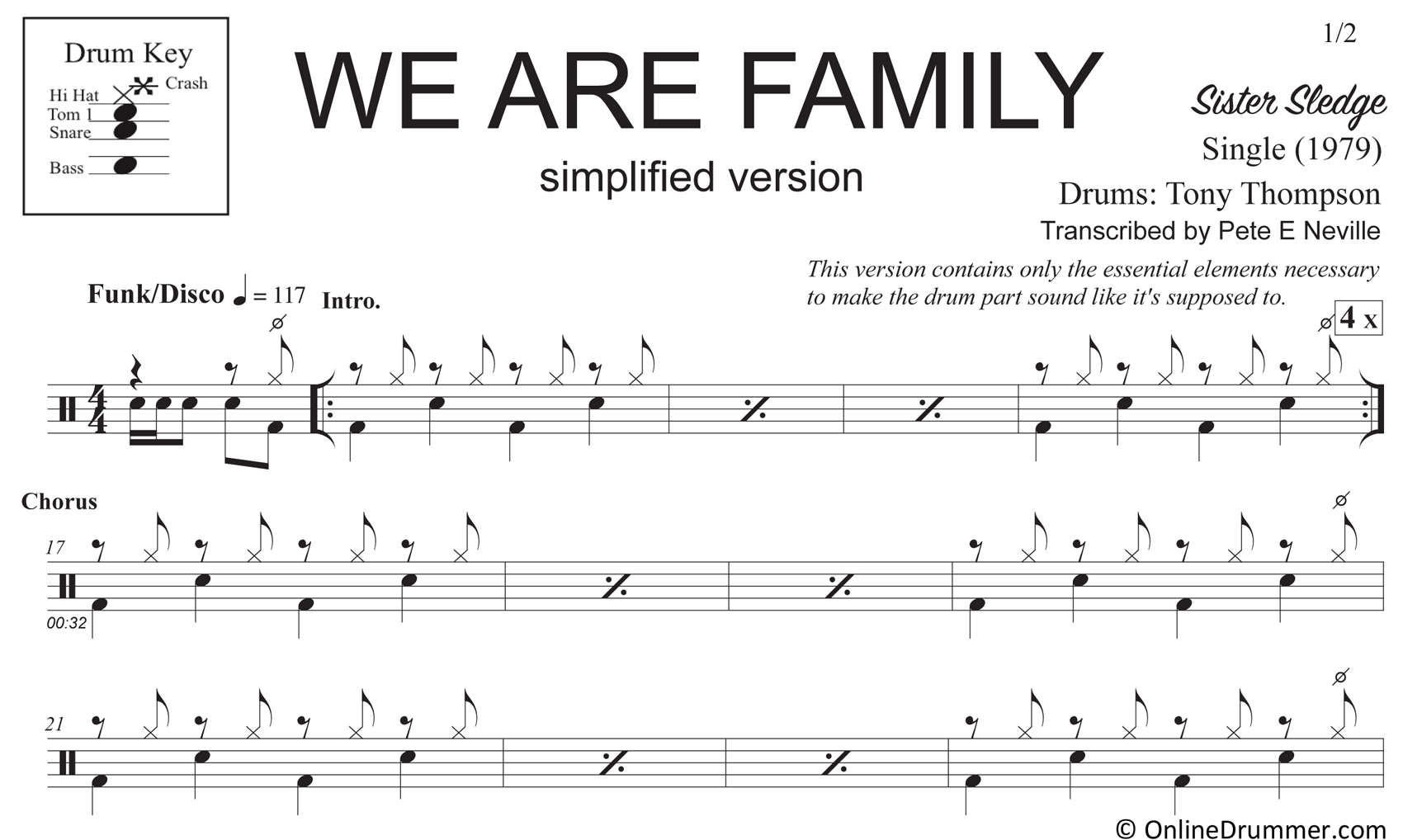We Are Family - Simplified