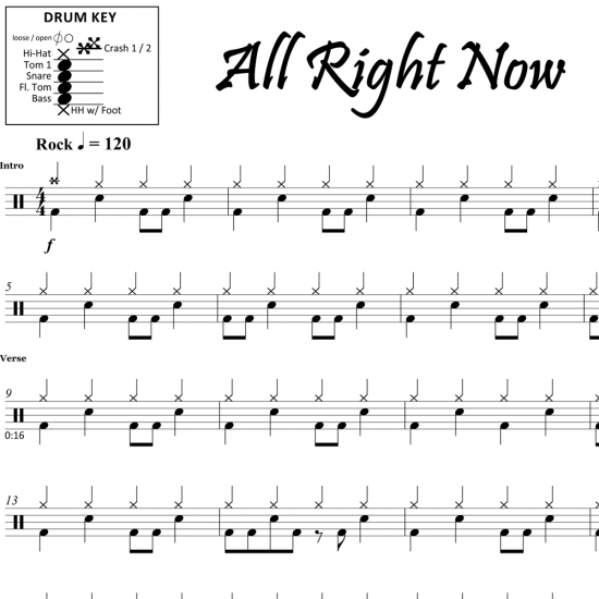 All Right Now – Free