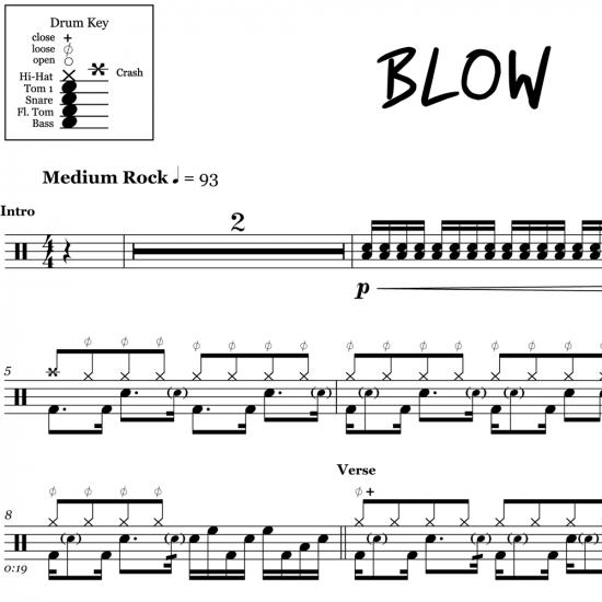 Drum Sheet Music – OnlineDrummer com