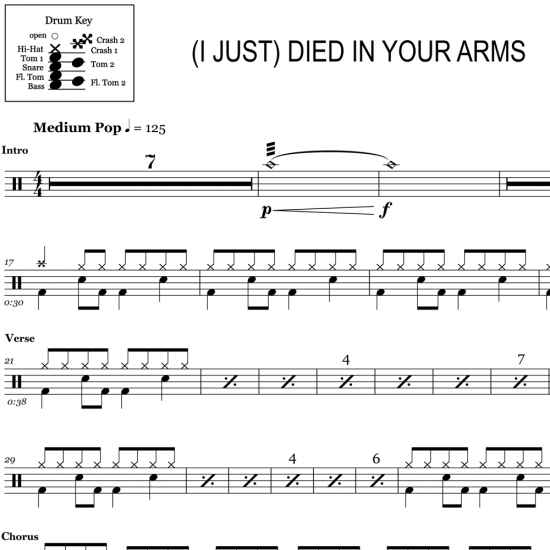 Drum Sheet Music – OnlineDrummer com