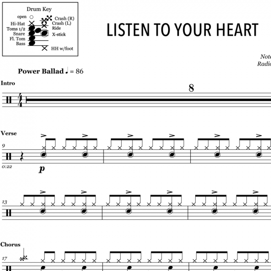 Listen To Your Heart – Roxette