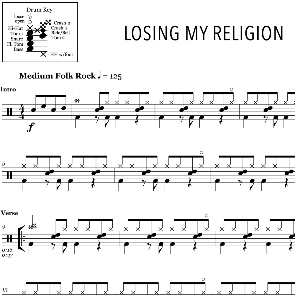 Losing My Religion – REM