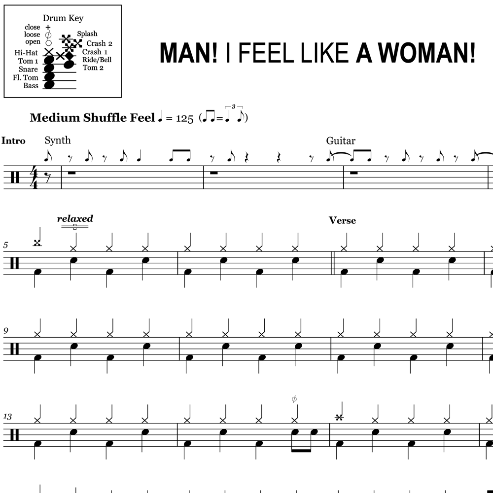 Man! I Feel Like a Woman! – Shania Twain