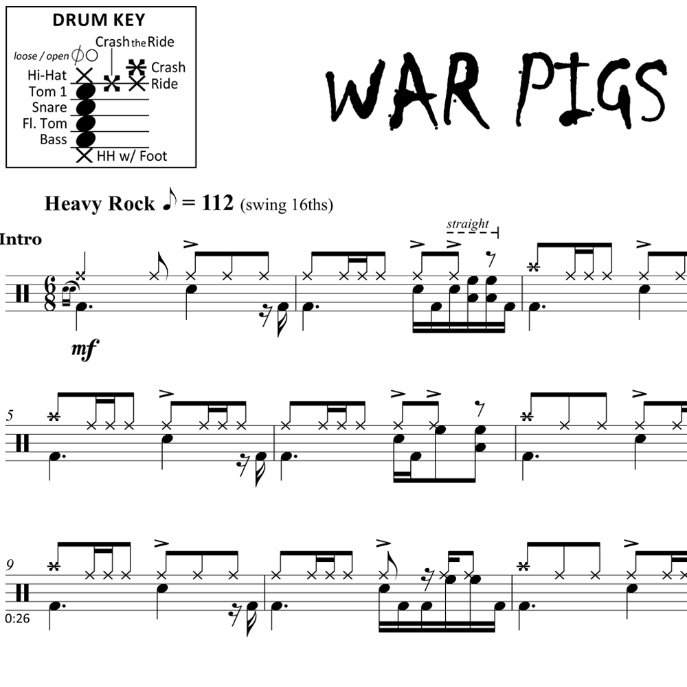 War Pigs - Black Sabbath