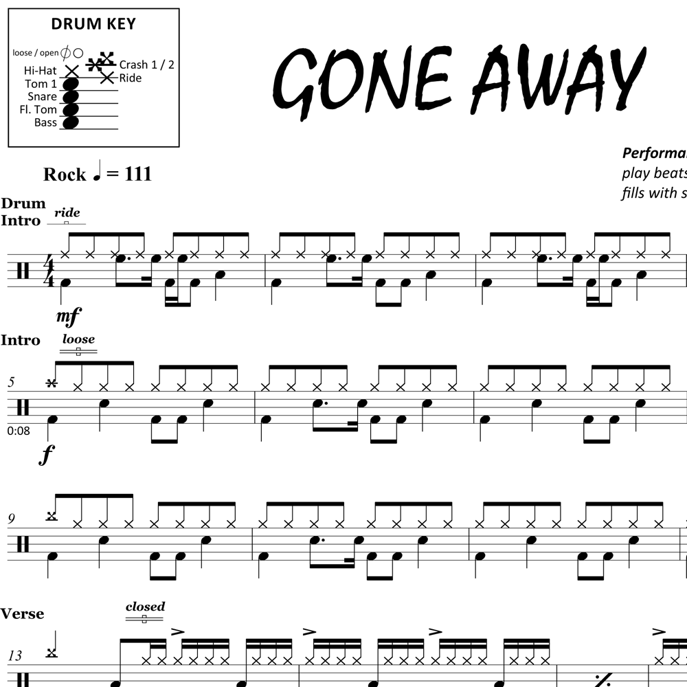 Gone Away - The Offspring - Thumbnail