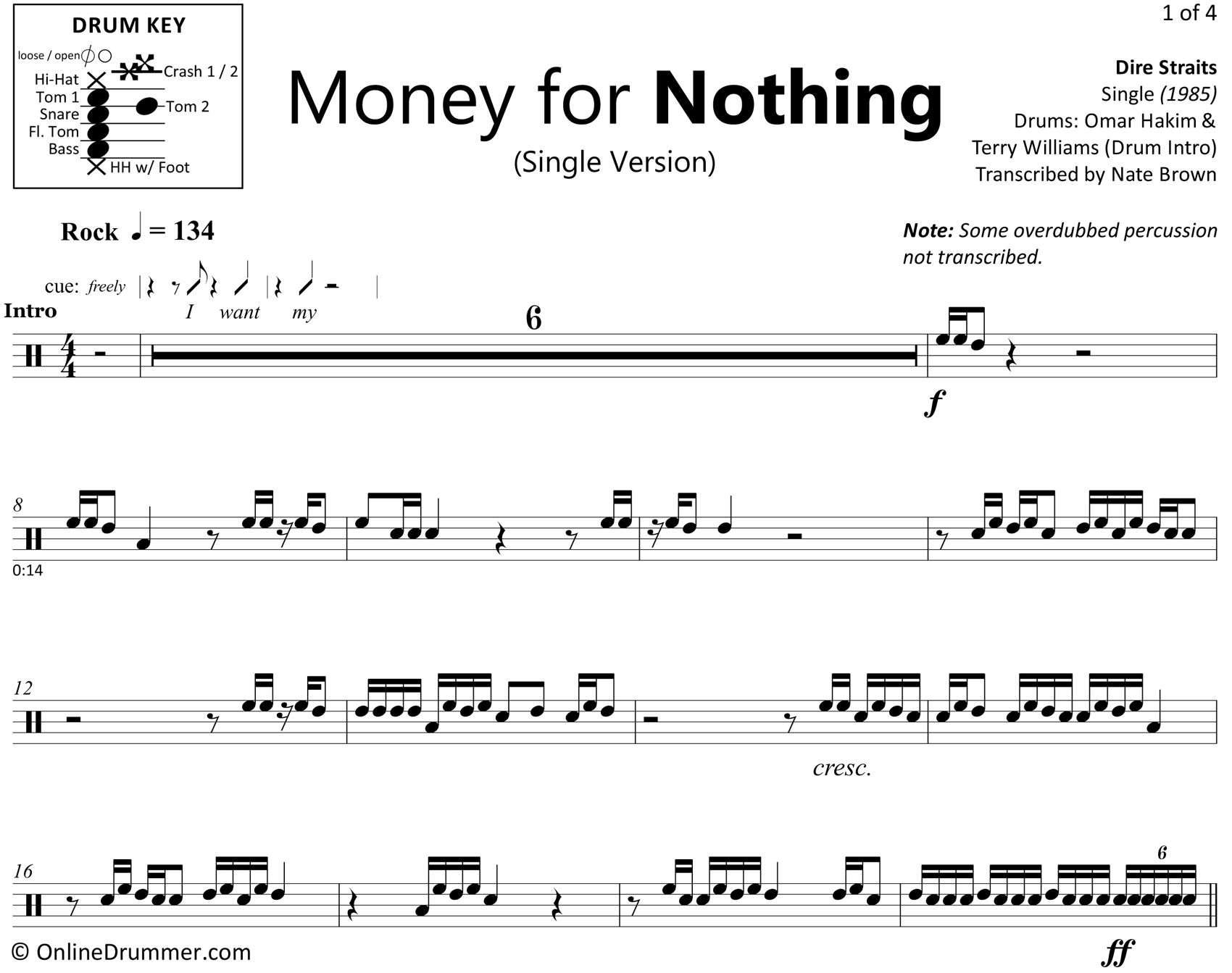 Money For Nothing - Single Version