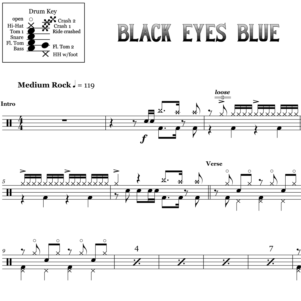 Black Eyes Blue - Corey Taylor - Thumbnail