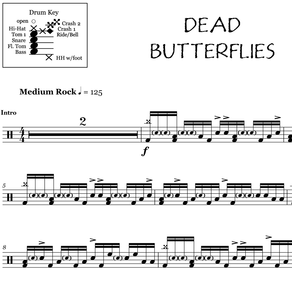 Dead Butterflies - Architects - Thumbnails