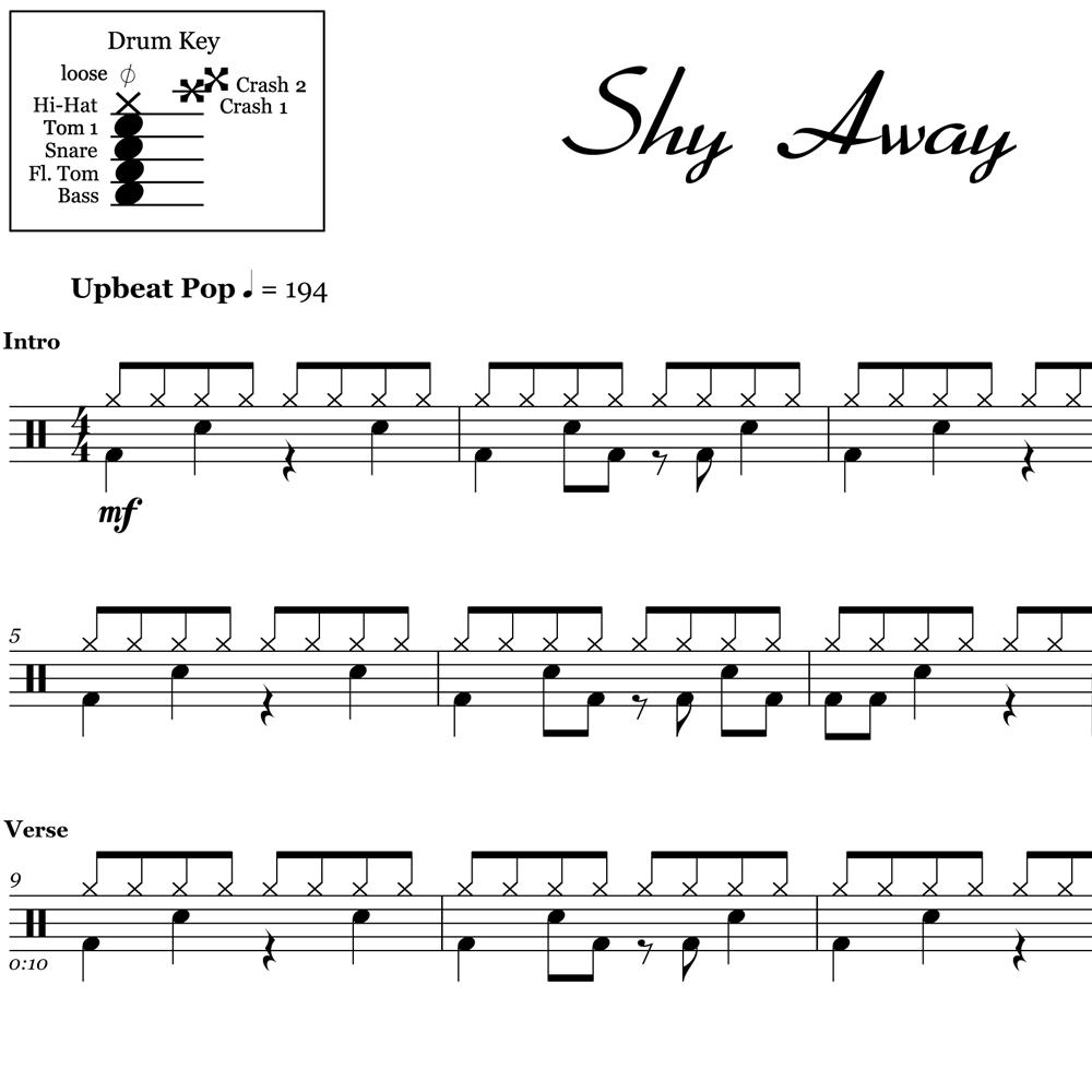 Shy Away - Twenty One Pilots - Thumbnail