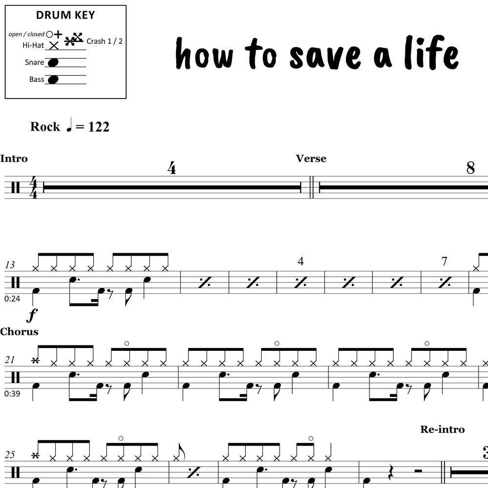 How to Save a Life - The Fray - Thumbnail