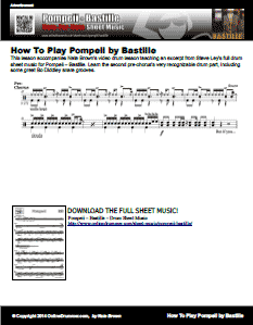 Pompeii - Pre-Chorus Excerpt