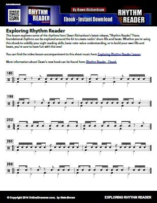 Exploring Rhythm Reader - Sheet Music