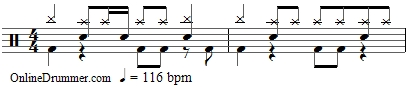 Baba O'Riley - Drum Beat