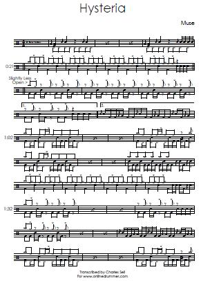 muse resistance sheet music pdf