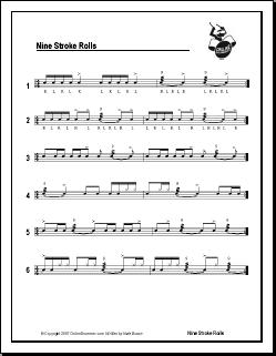 Nine Stroke Rolls
